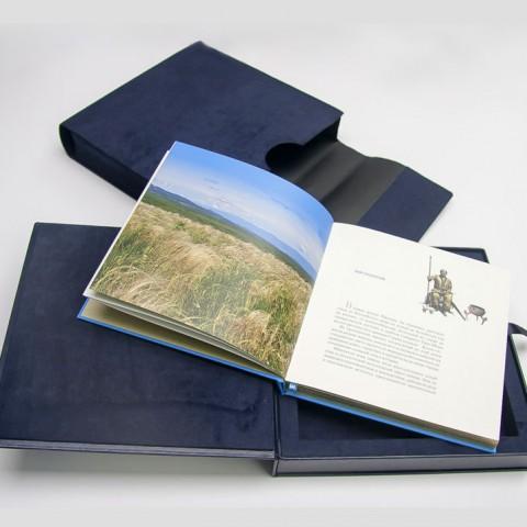 Almaty Özel Ahşap Kutulu Kitap Çalışması