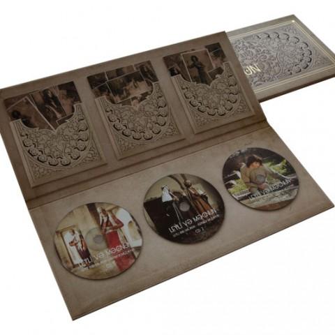 Azerbaycan-Flexible - Leyli Mecnun CD Seti özel kapak ve kutu çalışması