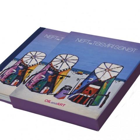 Azerbaycan - Neft ve Tefsiri Sanat adlı kutulu kitap çalışması
